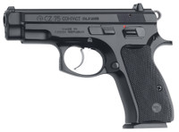 CZU CZ 75 Compact 9mm Luger 3.7 Inch Barrel Black Polycoat Finish 14 Round	 CZ 75 Compact