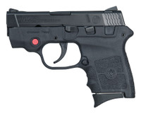 S&W M&P Bodyguard With Integrated Crimson Trace Red Laser .380 Auto 2.75 Inch Barrel Black Finish Manual Thumb Safety 6 Round