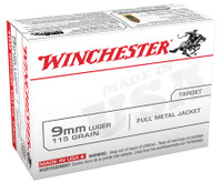 WIN USA Brand 9mm Luger 115 1,000 ROUNDS Grain Full Metal Jacket 100 Per Box	 USA Brand Handgun Ammunition
