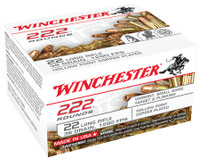 WIN .22 Long Rifle Bulk Pack 36 Grain Copper Plated Hollow Point 222 Rounds