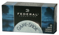 Federal 757 Game-Shok 22 WMR 50 GR JHP 3,000 rounds (50 Round boxes) FREE SHIPPING