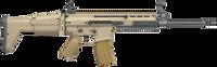 FN 98601 SCAR 16S Carbine Semi-Automatic 223 Remington/5.56 NATO 16.25 10+1 Adjustable Folding Stock Flat Dark Earth/Black*