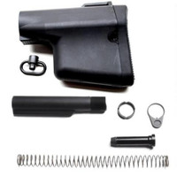 Troy Industries AR-15 Lightweight Battle Ax CQB Stock Kit, Black