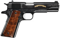 .Remington Firearms 96372 1911 R1 200th Anniversary Single/Double 45 ACP 5.0 7+1 Walnut Grip Black