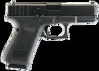 .Glock PA1950203 G19 Gen 5 Double 9mm Luger 4.01 15+1 Fixed Black Interchangeable Backstrap Grip Black