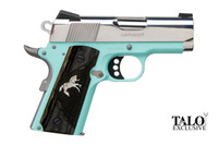 "C07002 Colt O7002D-REB 9mm Defender- 3"" Barrel, Robins Egg Blue, Stainless Steel POLISHED SLIDE 1 of 300, 098289111708, O7002D-REB"