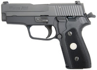 SIG P225A-1 Classic 9mm 3.6 Inch Barrel Black Nitron Finish Siglite Night Sights 8 Round
