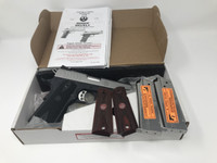 "USED RUGER SR1911 9MM 4.25"" LW CMDR IN EXCELLENT CONDITION"