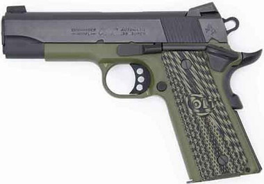 Colt Defense O4540XSE Commander Lightweight 38SUP Green Blued Series 70, O4540XSE, 151550018448
