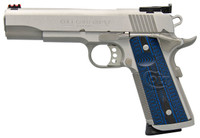 "Colt Gold Cup Trophy .45acp 5"" Stainless G10 Grips"