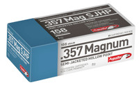 Aguila 1E572823 357 Magnum 158 GR Semi-Jacketed Soft Point 50 Rounds per box