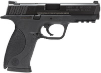 S&W M&P 9mm 4.25 Inch Barrel Black Finish Without Thumb Safety Black Frame 17 Round