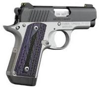 Kimber 380ACP Micro Advocate Purple Grip