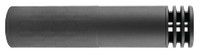 SCO Omega Centerfire Rifle Silencer With Mount Multi-Caliber 7.09 Inch 1.56 Inch Diameter 14 Ounces Black Finish - All NFA Rules Apply