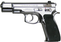 CZ 91108 CZ 75 75-B Single/Double 9mm Luger 4.6 16+1 Black Synthetic Grip Stainless Steel*