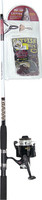 Eagle Claw CatClaw Spinning Combo, 8' Length, 2 Piece Rod, Medium Power MS6524CK
