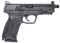 "Smith & Wesson 11770 M&P 9 M2.0 Double 9mm Luger 4.6"" TB 17+1 Black Interchangeable Backstrap Grip Black Armornite Stainless Steel"