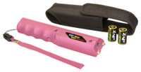 PSP ZAP STUN ZAP STICK PINK W/FLASHLIGHT 800000 VOLTS