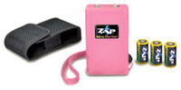 PSP ZAP STUN GUN PINK 950000 RED LED ON/OFF INDICATOR