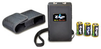 PSP ZAP STUN GUN BLACK 950000 RED LED ON/OFF INDICATOR