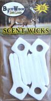 BLACK WIDOW DEER LURES WIDOW MAKER SCENT WICKS 4-PACK
