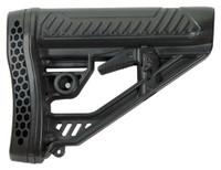 ADAPTIVE TACTICAL STOCK AR-15 MIL-SPEC POLYMER BLACK