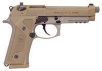 BERETTA M9A3 G 9MM 5.2 NS 17-SHOT THREADED BBL. TAN US<