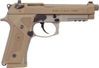 BERETTA M9A3 G 9MM 5.2 NS 10-SHOT THREADED TAN ITALY