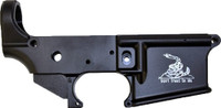 ANDERSON LOWER AR-15 STRIPPED RECEIVER DONT TREAD ON ME