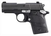 SIG P938 NIGHTMARE 9MM NIGHT SIGHTS 6-SH BLACK BLACKWOOD