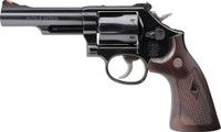 S&W 19 CLASSIC .357 4.25 BLUED CHECKERED WOOD GRIPS 5304