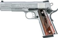 S&W 1911 ES .45ACP 5 FS 8-SHOT MACHINED ENGRAVED W/CAS 2391