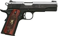 BG 1911-22 MEDALLION .22LR 4.25 FS MATTE BLACK ROSEWOOD 8115