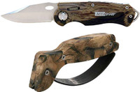 ACCUSHARP CAMO SHARPENER & CAMO SPORT KNIFE COMBO