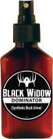 BLACK WIDOW DEER LURES 3 OZ. DOMINATOR SYNTHETIC BUCK URINE