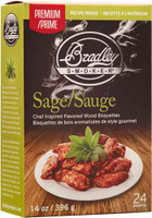 BRADLEY SMOKER SAGE & MAPLE BISQUETTES 24 PACK