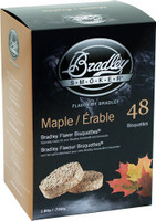 BRADLEY SMOKER MAPLE FLAVOR BISQUETTES 48 PACK