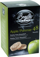 BRADLEY SMOKER APPLE FLAVOR BISQUETTES 48 PACK