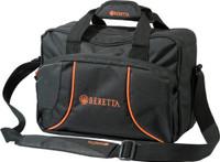 BERETTA UNIFORM PRO RANGE BAG 14X8X10 BLACK/ORANGE NYLON