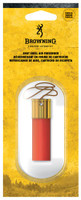 BROWNING AIR FRESHNER SHOTSHELL SHAPE RED/BRASS