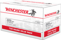 WIN AMMO USA .223 REMINGTON 55GR. FMJ 150-PACK