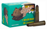 BROWN BEAR BLANK 7.62X39 500-PACK CASE