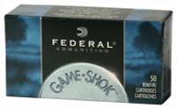 FED AMMO .22LR (CASE 100BOXES) 1260FPS. 38GR. HP 50-PACK