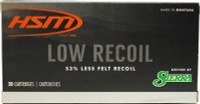 HSM AMMO .243 WIN 85GR. SBT LOW RECOIL 20-PACK