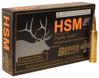 HSM AMMO .240 WBY 95GR BERGER MATCH HUNTING VLD 20-PACK