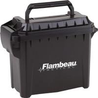 FLAMBEAU MINI TACTICAL AMMO CAN 6.75X3.375X5.5 W/LOGO
