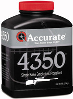 ACCURATE 4350 POWDER 1 LB. CANNISTER