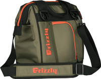 GRIZZLY COOLERS DRIFTER 12 EVA MOLDED COOLER OD GREEN/ORG