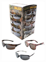 RIVERS EDGE SUNGLASS CASE LOTS GRN-PINK-WHITE CAMO 36-PACK
