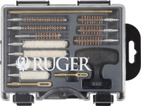 ALLEN RUGER COMPACT HANDGUN CLEANING KIT IN MOLDED TOOL BX